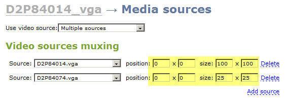 record media sources