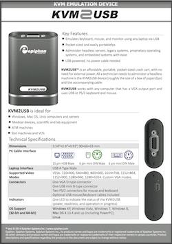 Epiphan KVM2USB Product Brochure