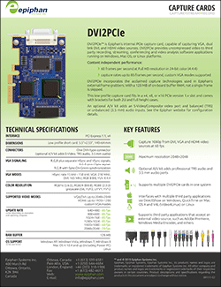 DVI2PCIe Brochure