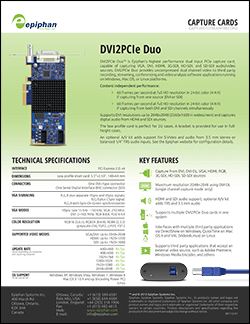 DVI2PCIe Duo Brochure