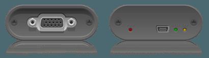 VGA2USB inputs and outputs