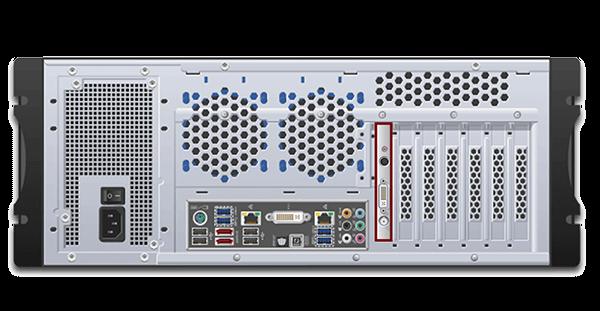 DVI2PCIe AV Kit Installed in a Computer