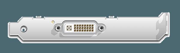 DVI2PCIe Input Ports