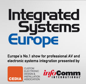 Logo for Integrated Sysems Europe (ISE) Conference, 2012