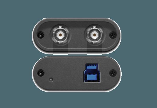 SDI2USB 3.0 Top and Bottom Ports