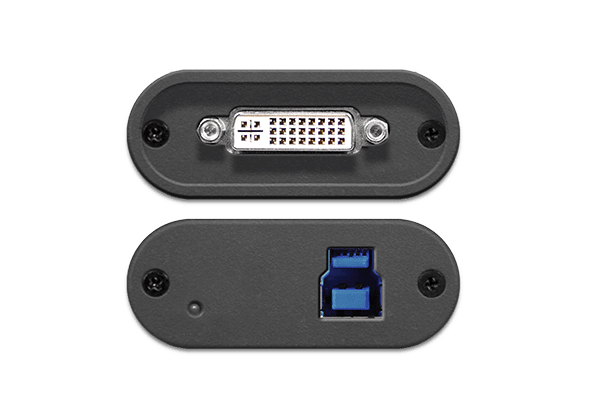 DVI2USB 3.0 - Top and Bottom Ports