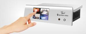 Epiphan Pearl - touchscreen