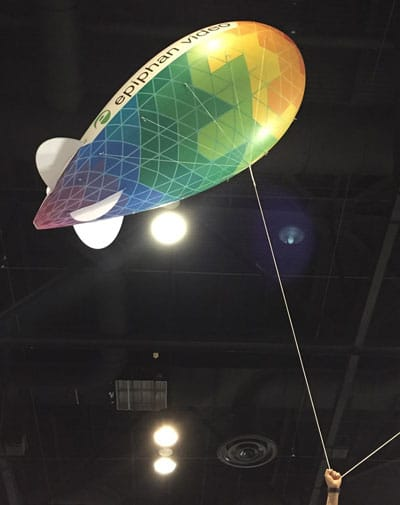 Epiphan Blimp from InfoComm 15