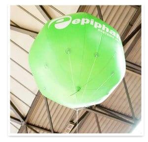infoComm13 Epiphan Balloon