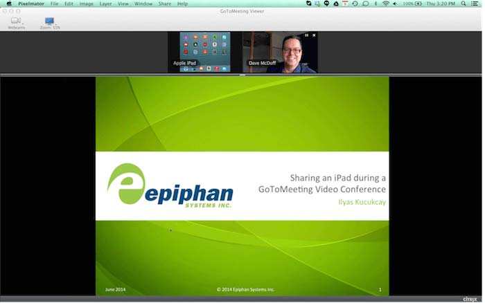 Video Conference through GoToMeeting