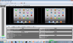 Windows Media Encode - DVI2USB 3.0 - iPad source and output view