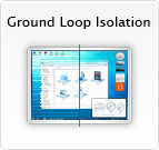 Ground loop isolation