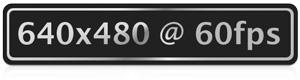 640x480@60fps