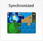 Synchronized icon