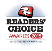 Streaming Media Readers' Choice Awards 2015