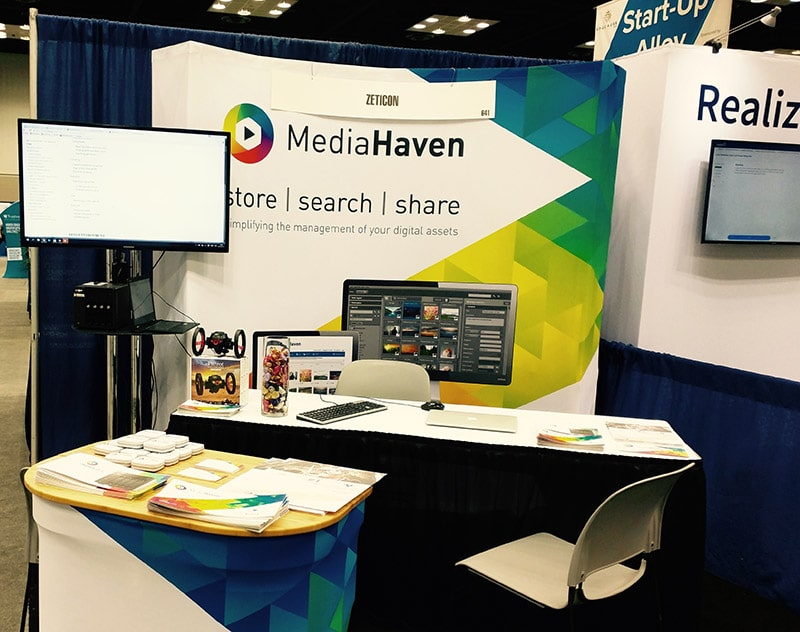 Mediahaven booth