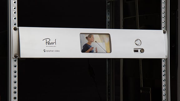 Pearl Rackmount - In a rack