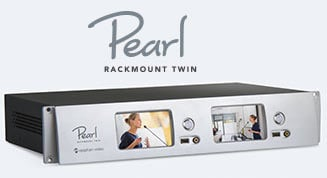 Epiphan Pearl Rackmount Twin - Two completely independent Pearl systems for high density rack installation.