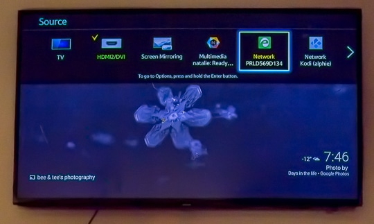 smart tv displayport setup
