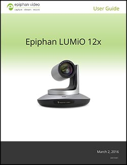 LUMiO 12x user guide