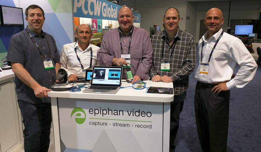 Epiphan at NAB 2016 – Broadfield group shot