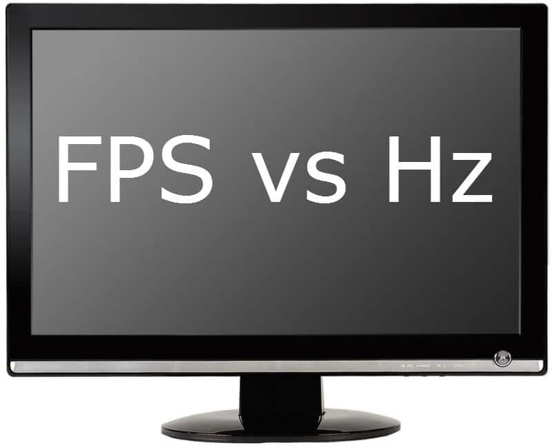 Frame rate fps and refresh rate
