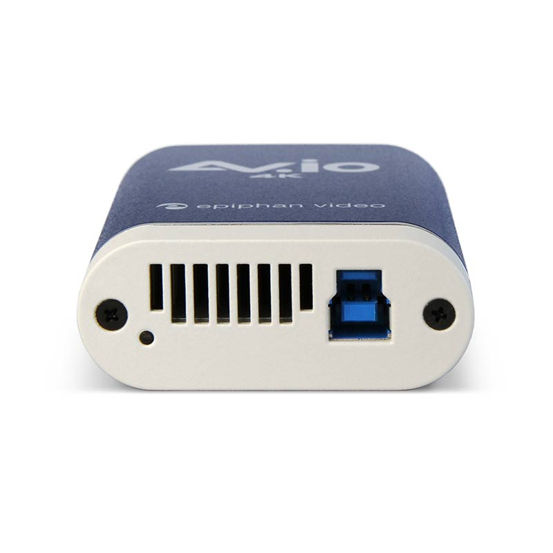 AV.io 4K - Bottom, with USB 3.0 connector
