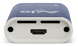 AV.io 4K - top, showing HDMI input