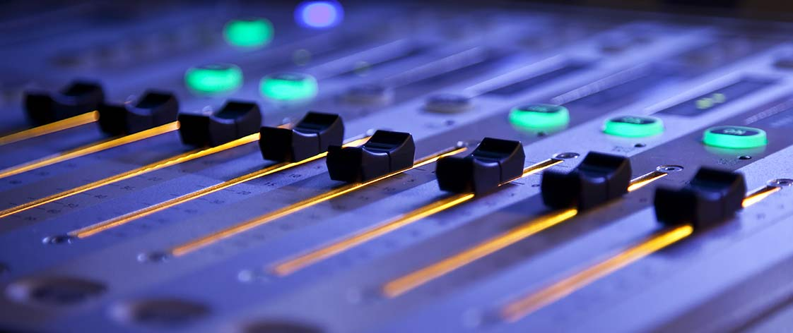 Audio Mixer for live events