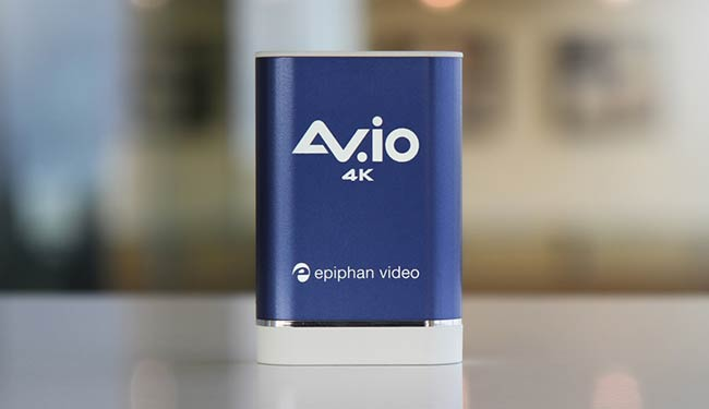 AV.io 4K - capture card