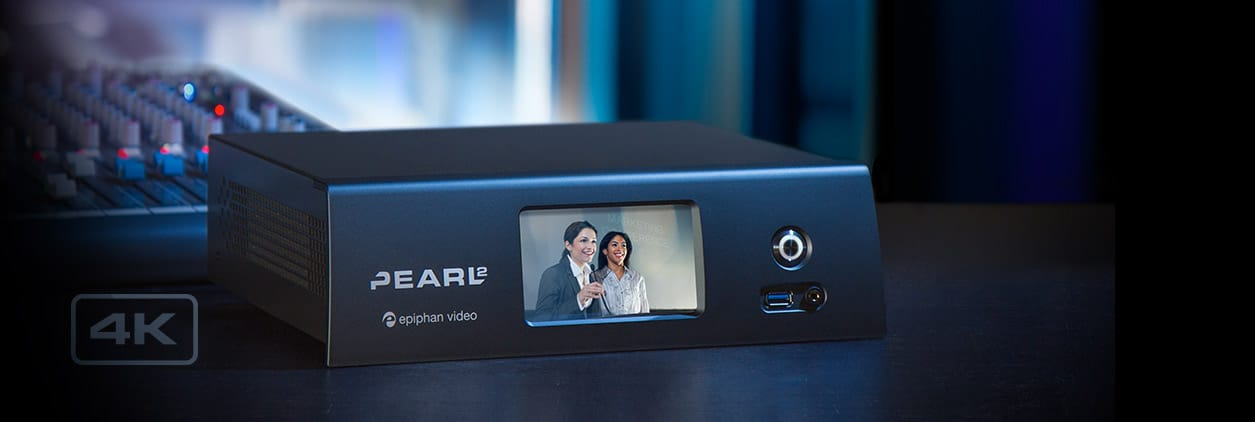 Pearl-2 – HD and 4K live video production with this all-in-one system!