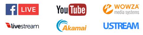 CDN streaming options