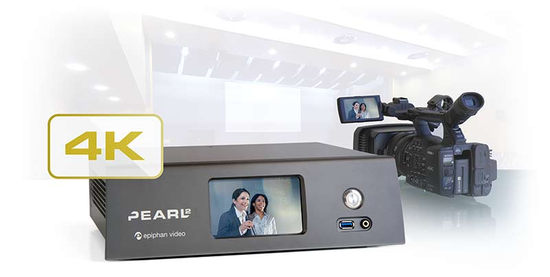 Pearl-2 is the easiest way to do 4K live streaming, switching and recording.