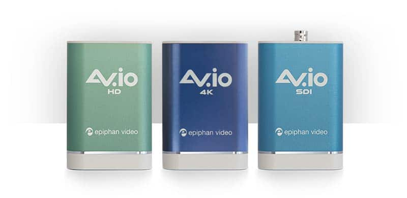 AV.io capture cards come in three varieties that provide solutions for worship productions, letting you add HD camera to your streaming software