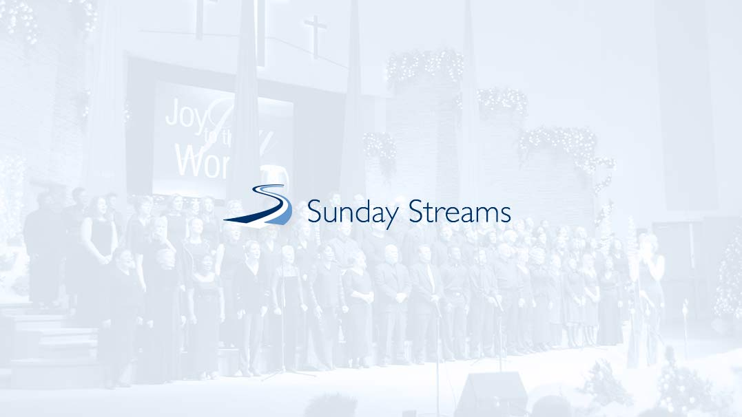Sunday streams - live streaming church services