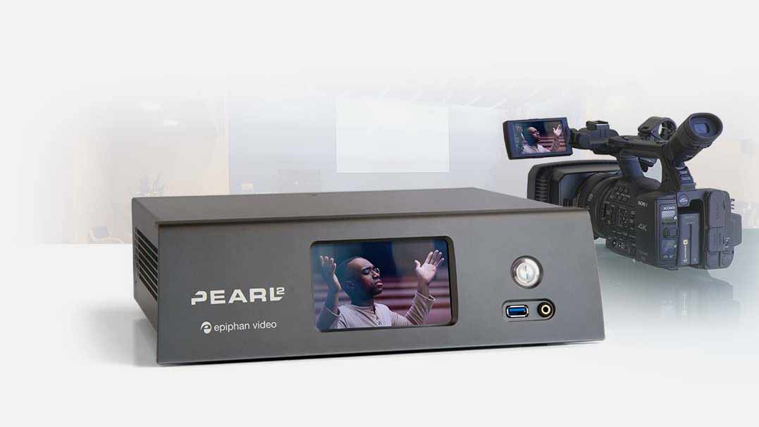 Pearl-2 video production for worship services