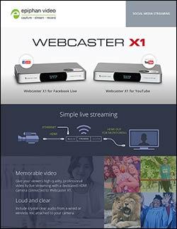 Brochure - Webcaster X1