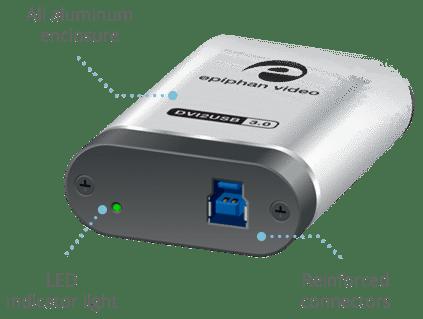 DVI2USB 3 0 - USB video grabber for HDMI video capture