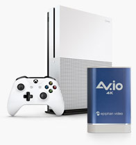 Capturing 4K game play with Xbox One S™ and AV.io 4K