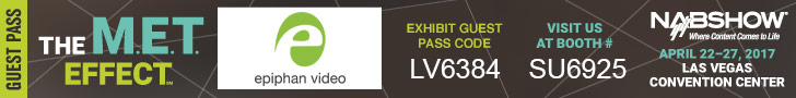 NAB Show guest pass