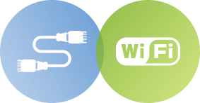 Wired Ethernet or WiFi