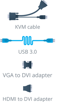 KVM2USB 3.0 cables