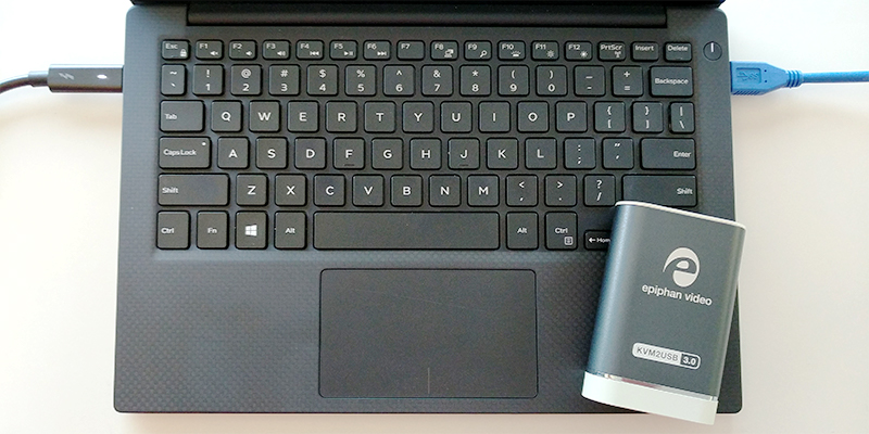 How to use a laptop as the keyboard, monitor, and mouse for