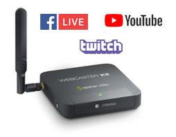 Webcaster X2 - Social media encoder