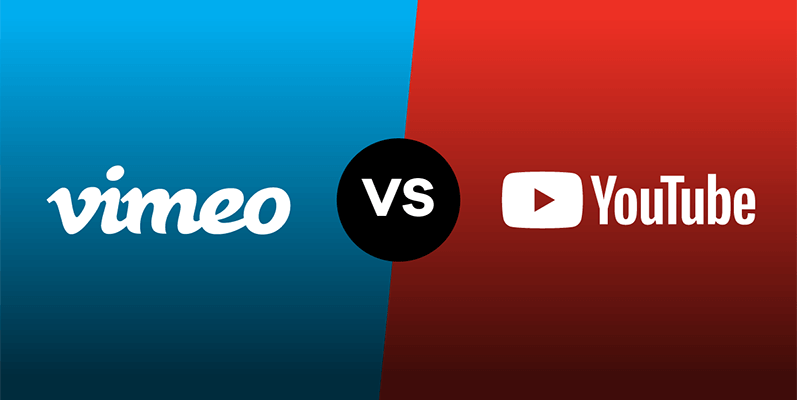 Vimeo vs YouTube comparison of all the important live