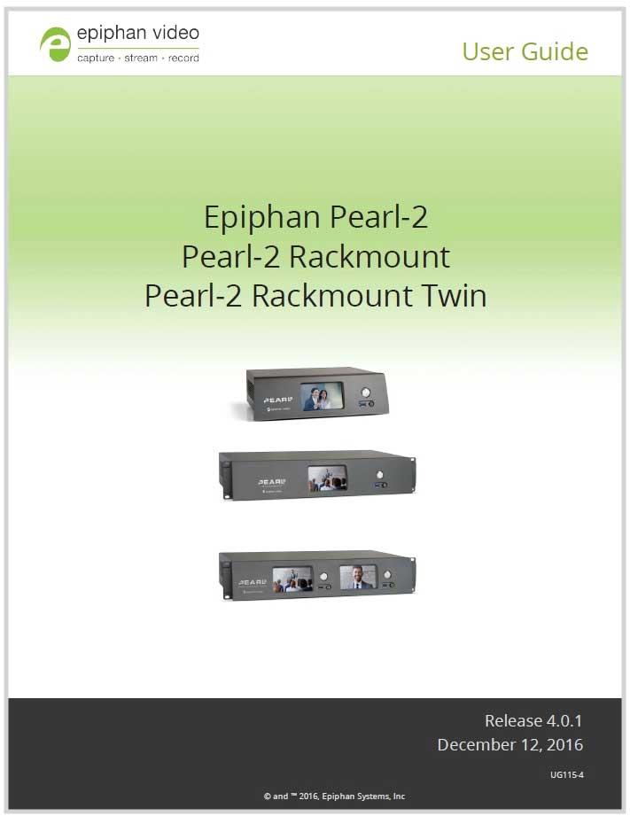 Pearl-2 user guide