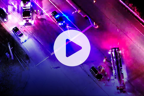 Fire department uses drones and Webcaster X2 to help save lives