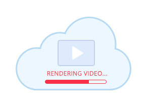 cloud-based video render