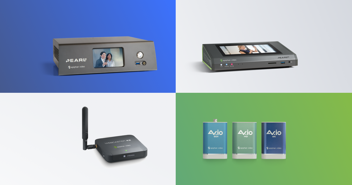 Devices and Hardware for Video Capture, Streaming & Recording