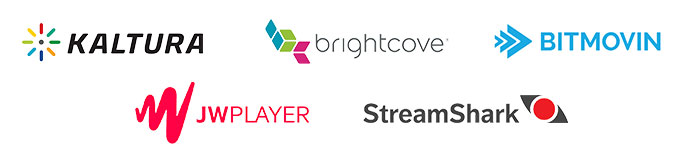 Paid live streaming platforms Kaltura Brightcove JWPlayer Bitmovin StreamShark